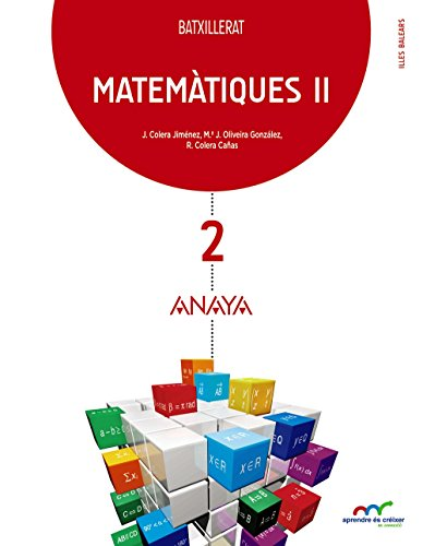 9788469813492: Matemàtiques II. (Aprendre és créixer en connexió) - 9788469813492