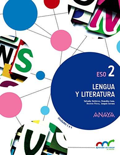 9788469814208: 2� E.S.O.-LENGUA C.Y LITERATURA 2 (TRIM) (2016) - A.CRECER