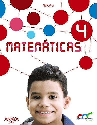 9788469821350: Matemáticas 4. (Con Resolución de problemas 4). (Aprender es crecer en conexión) - 9788469821350