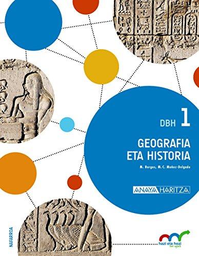 9788469828137: (EUS).GEOGRAFIA ETA HISTORIA 1.DBH.*EUSKERA*