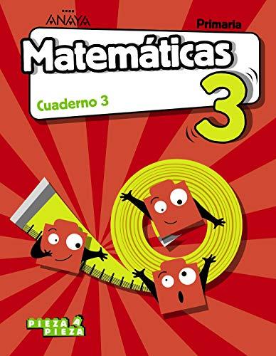 9788469835265: Matemáticas 3. Cuaderno 3. (Pieza a Pieza)
