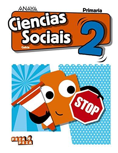 9788469839669: Ciencias Sociais 2. (Peza a Peza)