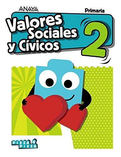 9788469840337: Valores Sociales y Cívicos 2. (Pieza a Pieza)