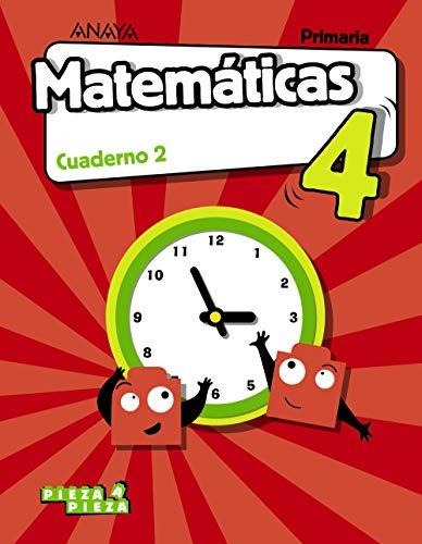 9788469850725: Matemáticas 4. Cuaderno 2. (Pieza a Pieza)