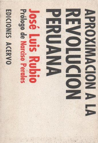 9788470021596: Aproximación a La Revolución Peruana