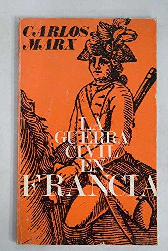 9788470051043: La Guerra Civil en Francia