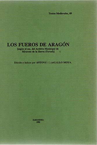 9788470132490: Fueros de Aragón, los