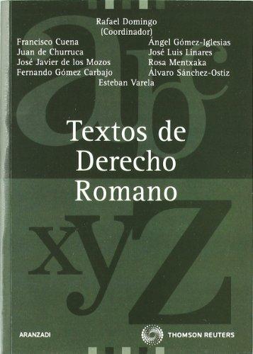 9788470169113: TEXTOS DE DERECHO ROMANO (BASICO) 2002