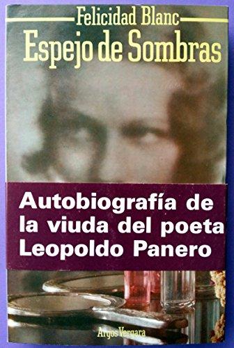 9788470174810: Espejo de sombras (Spanish Edition)