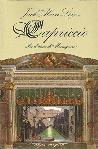 9788470176135: Capriccio (Spanish Edition)