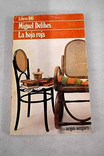 9788470176852: La hoja roja (Libros DB) (Spanish Edition)