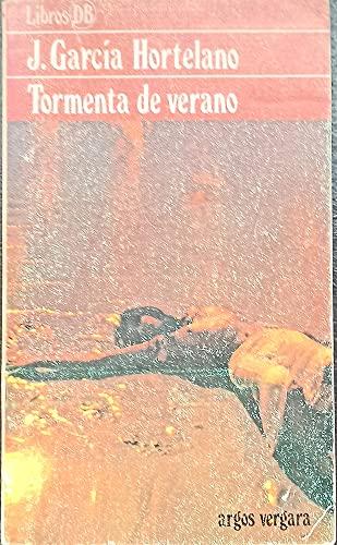 Tormenta de verano: GARCIA HORTELANO, Juan