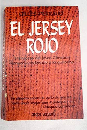 9788470177019: El jersey rojo