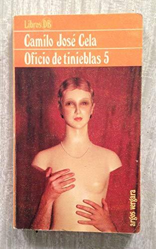 9788470177415: Oficio de tinieblas 5 (Libros DB)