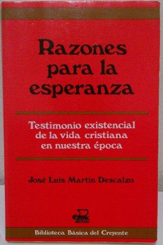 Razones para la esperanza: Cuaderno de apuntes (Biblioteca basica del creyente) (Spanish Edition): ...