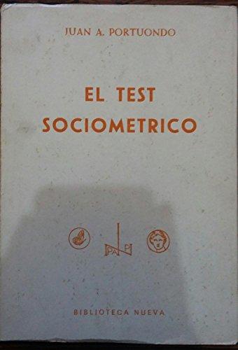 9788470301865: El Test Sociometrico
