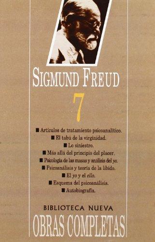 Obras completas Tomo VII: Sigmund Freud