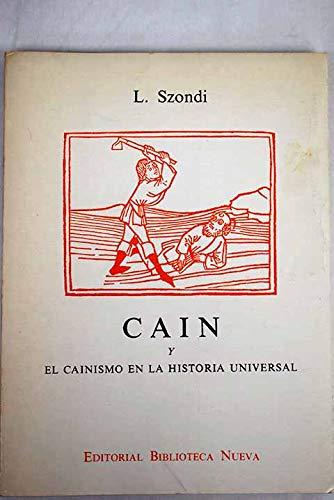 9788470302473: Caín Y El Cainismo En La Historia Universal