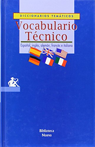 9788470304590: Vocabulario técnico (Castillian Edition)