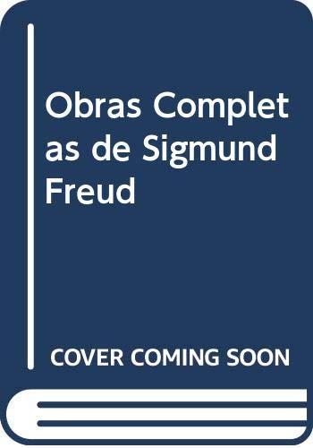 9788470304910: Obras Completas de Sigmund Freud (Spanish Edition)
