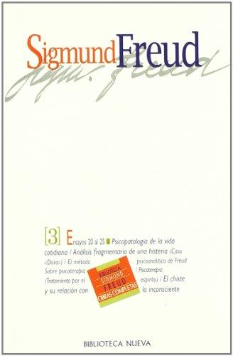 9788470304941: Sigmund Freud - Tomo 3 (Spanish Edition)