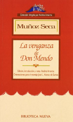 9788470307010: VENGANZA DE DON MENDO, LA (Spanish Edition)