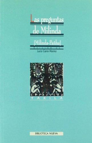 9788470307881: Las Pregunats De Milinda (Taxila)