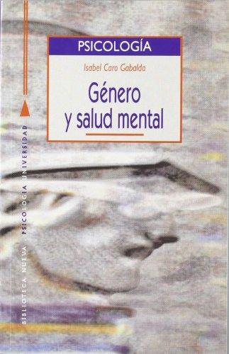 9788470308949: Género Y Salud Mental