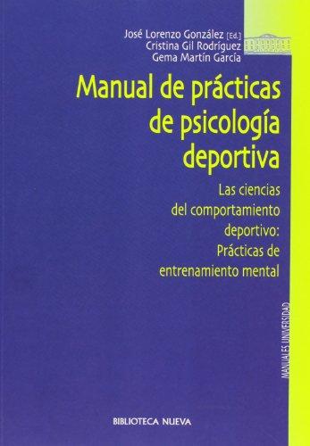 9788470309458: Manual De Prácticas De Psicología Deportiva