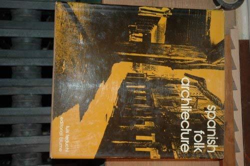 9788470310171: Spanish Folk Architecture, Vol.1: The Northern Plateau