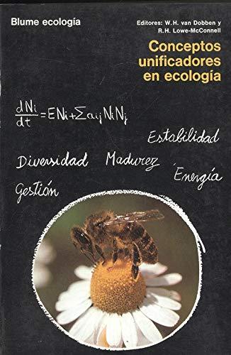 9788470312496: Conceptos Unificadores En Ecologia