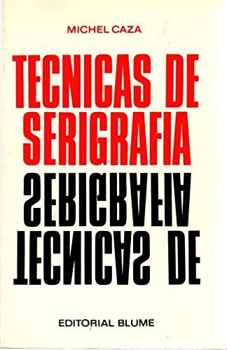 9788470314087: Tecnicas de serigrafia
