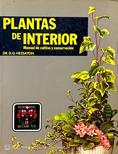 9788470315220: Plantas de interior. manual de cultivo y conservacion