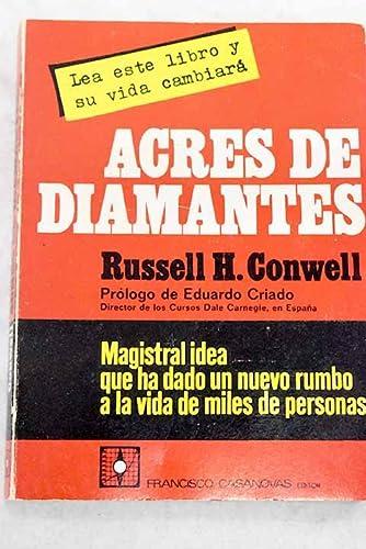 9788470381591: Acres de diamantes