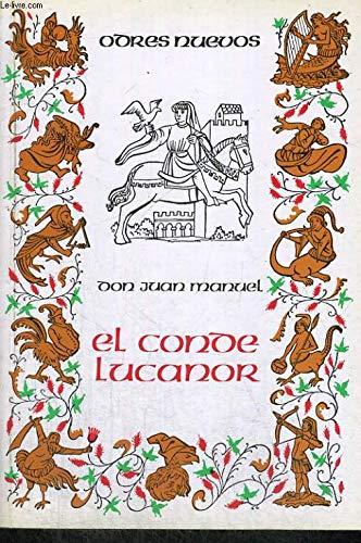 9788470390241: El conde Lucanor (Odres Nuevos) (Spanish Edition)