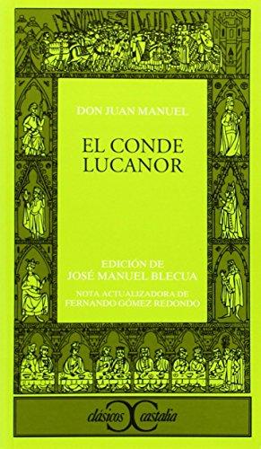 9788470390616: El conde Lucanor                                                                . (CLASICOS CASTALIA. C/C.)