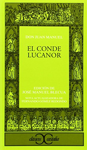 9788470390616: El Conde Lucanor (Clasicos Castalia) (Spanish Edition)