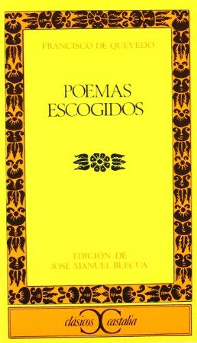 9788470391668: Poemas escogidos . (CLASICOS CASTALIA. C/C.)