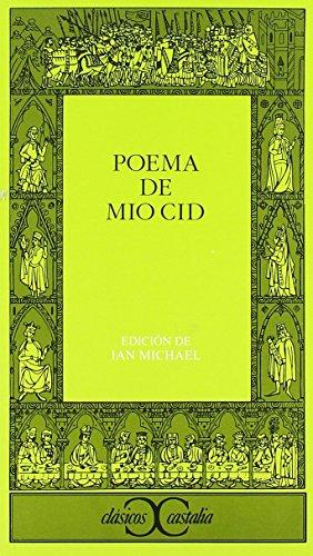 Poema Del Mio CID (Clasicos Castalia): Anonimo