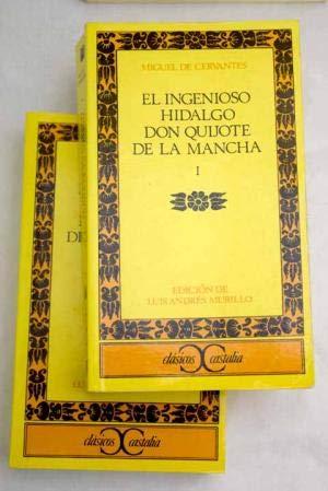 9788470392849: El ingenioso hidalgo don Quijote de la Mancha (Clásicos Castalia) (Spanish Edition)