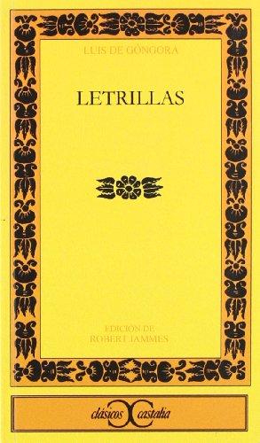 Letrillas: Gongora Y Argote,