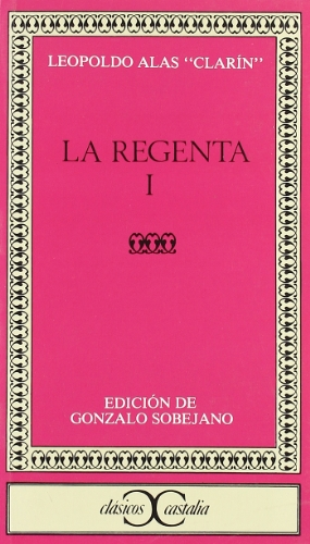 9788470393846: La Regenta, tome 1