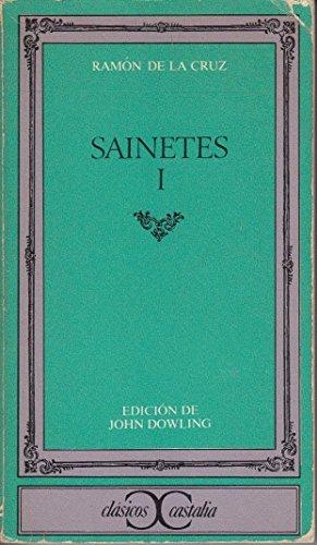 9788470393983: Sainetes (Clásicos Castalia) (Spanish Edition)