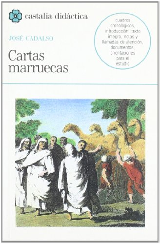 9788470394423: Cartas marruecas . (CASTALIA DIDACTICA. C/D.)