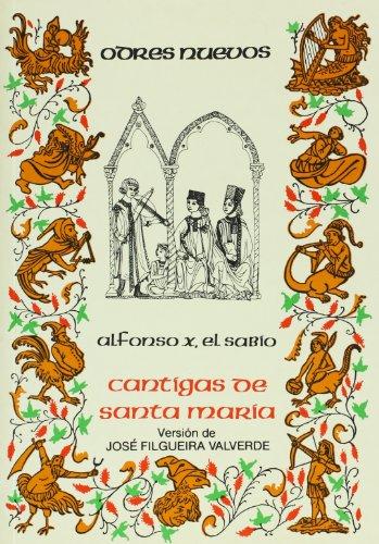 9788470394461: Cantigas de Santa María . (ODRES NUEVOS. O/N.)