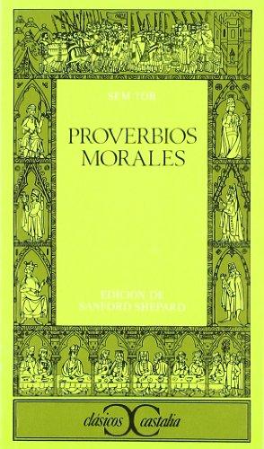9788470394706: Proverbios morales . (CLASICOS CASTALIA. C/C.)