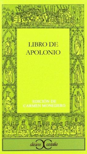 9788470394966: Libro de Apolonio . (CLASICOS CASTALIA. C/C.)