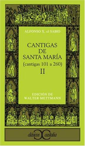 9788470395222: Cantigas de Santa María II