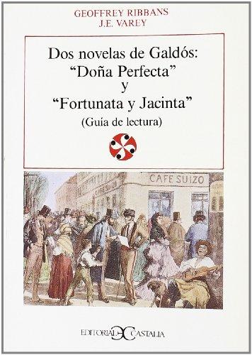9788470395246: DOS Novelas Galdos: DOA Perfecta y Fortunata (Literatura y Sociedad) (Spanish Edition)