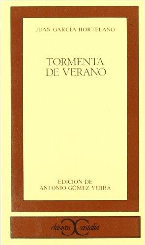 TORMENTA DE VERANO: JUAN GARCIA HORTELANO